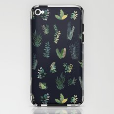 green garden at nigth iPhone & iPod Skin