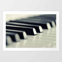 piano Art Prints featuring Piano by Falko Follert Art-FF77