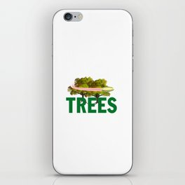 Splittin' Trees Funny Disc Golf iPhone Skin