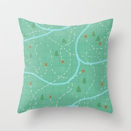 There's Treasure Everywhere Throw Pillow