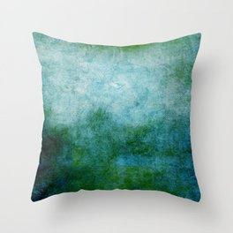 Abstract Cave IV Throw Pillow
