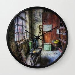 Olde Victorian Slate Workshop Wall Clock
