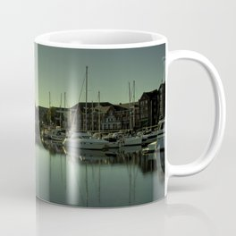 Swansea Docks Reflections Coffee Mug