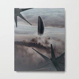 Arrival Metal Print