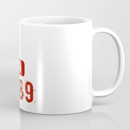 Legends Are Born In 1989 Birthday Gift Coffee Mug