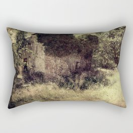 Vintage forgotten town Rectangular Pillow