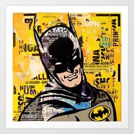 I am the night Art Print