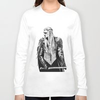 thranduil Long Sleeve T-shirts featuring Thranduil by Lydia Joy Palmer