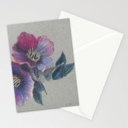 Hellebore Study Stationery Cards