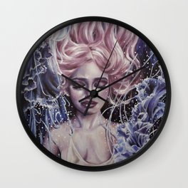 Sparkling Water Wall Clock
