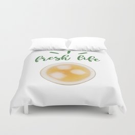 fresh juice Duvet Cover