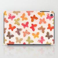 karu kara iPad Cases featuring BUTTERFLY SEASON by Daisy Beatrice