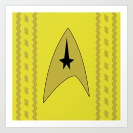 Star Trek - Kirk Art Print