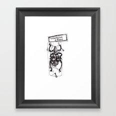 Big Weevil Framed Art Print