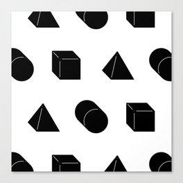 Shapes Pattern Canvas Print
