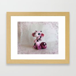 Cherry Blossom Dragon Framed Art Print
