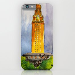 UT Tower - Shines to welcome new students to campus iPhone Case