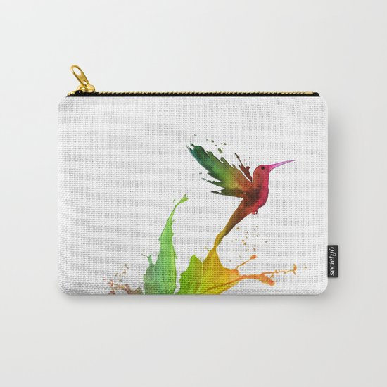 Humming Bird Colors Carry-All Pouch