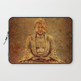 Sand Stone Sitting Buddha Laptop Sleeve
