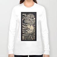 geisha Long Sleeve T-shirts featuring Geisha by Mario Sayavedra