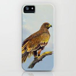 Steppe Eagle iPhone Case