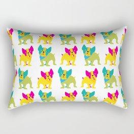 Charlie chihuahua Rectangular Pillow