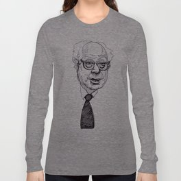 rumply bernie sanders Long Sleeve T-shirt