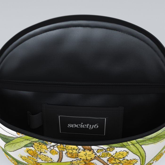 Australian Wattle Flower, Illustration Fanny Pack