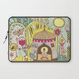 Yogashala by Justine Aldersey-Williams Laptop Sleeve