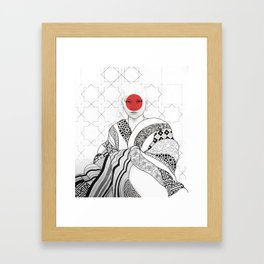 The Monk Framed Art Print