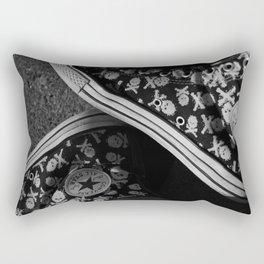 All Star and Skulls Rectangular Pillow