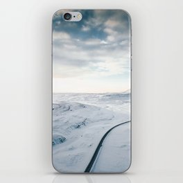 road in iceland iPhone Skin