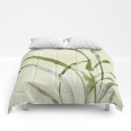 beach weeds Comforters