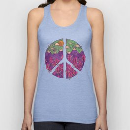 Peaceful Landscape Unisex Tank Top