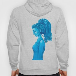 The girl with the dreads Hoody
