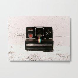 TimeZero OneStep Land Camera, 1981 Metal Print