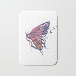 Butterfly Lover Bath Mat