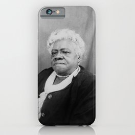 Mary Jane McLeod Bethune - Society6 - Stateswoman Philanthropist Womanist BLM   423 iPhone Case