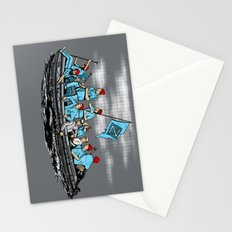Team Zissou Crossing the Delaware Stationery Cards