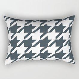 Texas longhorns houndstooth college UT university sports football fan team alumni Rectangular Pillow