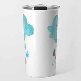Happy cloud Travel Mug