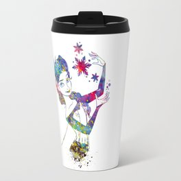 Queen Elsa from Frozen Travel Mug