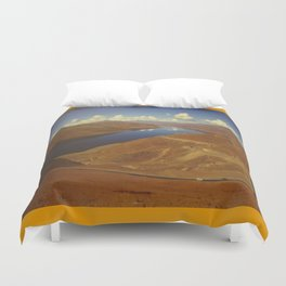 A Long And Winding Road Duvet Cover