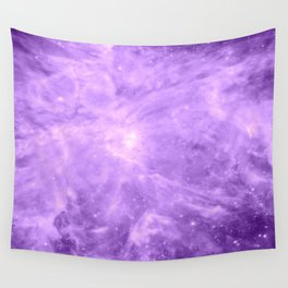 Lavender Orion Nebula Wall Tapestry