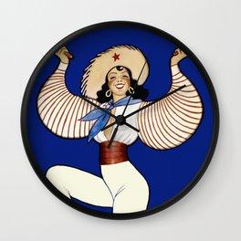 Vintage Cuba Dancer Travel Wall Clock