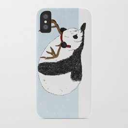 Festive Panda iPhone Case