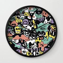 monstersmelt Wall Clock