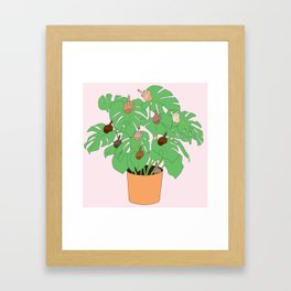 Houseplant Framed Art Print