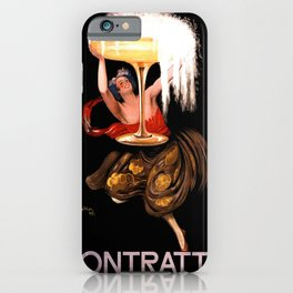 Vintage poster - Contratto iPhone Case