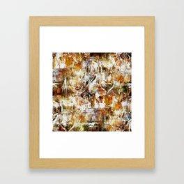 Pattern 2017 025 Framed Art Print